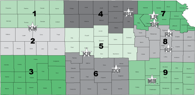 Commissioners Map